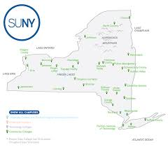 Counties In Ny State Map Map Of Cuses Suny