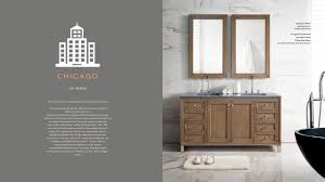 Bath Vanities Chicago Chicago Collection Bathroom Vanity By James Martin Furniture Youtube