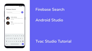 image search android android studio firebase search firebase tutorial