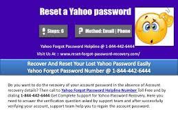 Yahoo Help Desk Yahoo Hotline Number Help Desk 1 844 442 6444