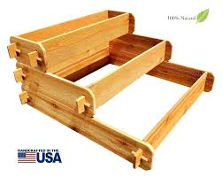 planters food pyramid garden planter designs shaped cedar plans