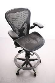 Modern Office Chairs Mesh Office Raynor Ergohuman Chair Mesh With Headrest Sleek Modern