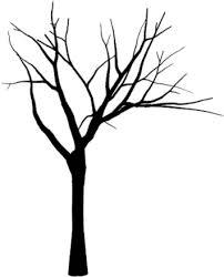 black tree zoeken illustrations clipart library