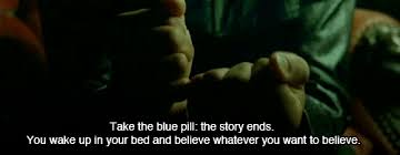 red matrix gif blue pill matrix gif thematrix bluepill thestoryends discover