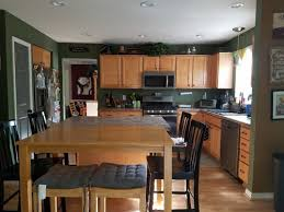 what color goes with oak cabinets wall paint color for oak cabinets and oak floor