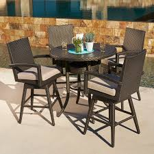 Bar Height Patio Dining Set by Sidney 5pc Bar Height Dining Collection Mission Hills Furniture