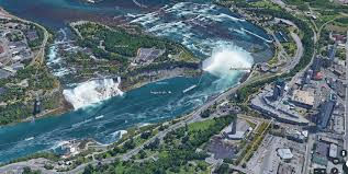 Niagara Falls State Park Map by My Sister Took A Picture Of Niagra Falls From A Helicopter