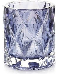 Yankee Candle Wall Sconce Holiday Deal On Navy Fractal Glass Votive Candle Holder Yankee