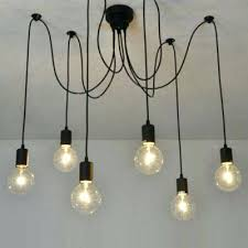Edison Pendant Light Fixture Edison Hanging Light Fixture Black Pendant Lighting Industrial