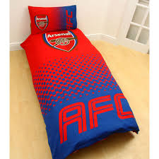 Personalised Duvet Covers Arsenal Fc Single And Double Duvet Cover Sets Bedroom Bedding Ebay