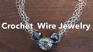 wire jewelry necklace images Crochet wire jewelry jpg