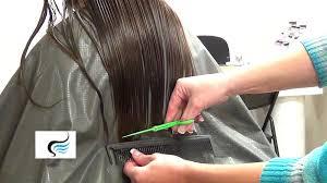 how to cut straight hair across haircut straight cut hairstyles