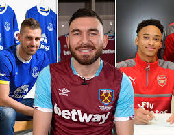 premier league done deals every transfer in during january 2017