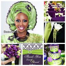 colour themes for nigerian wedding stunning green and purple wedding colors gallery styles ideas