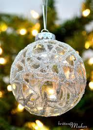 my diy part 4 german glass glitter ornaments