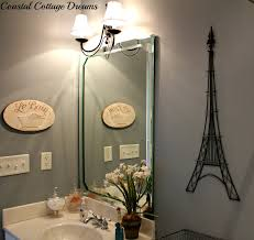 sunflowers with smiles french touches to bathroom