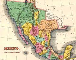 mexico map 1800 mexico map 1800 my