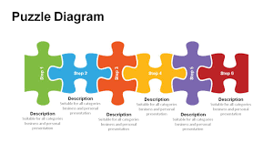 Fishbone Diagram Template Ppt by Jigsaw Puzzle Pieces Powerpoint Templates Powerslides