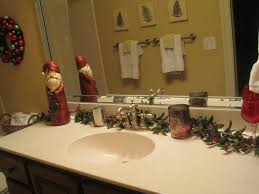 simple christmas decor for bathroom bathroom decorating ideas