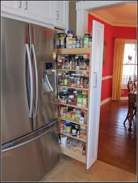 kitchen cabinet pull out spice rack cabinet home decorating