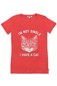 valentines day shirt women s i m not single i a cat shirt tipsy elves