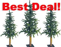 4 foot 5 foot 6 foot alpine tree set trees and toppers