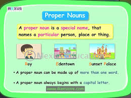 learning english grammar proper noun and common noun youtube