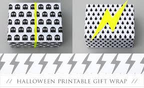 Halloween Gift Wrap - free gift wrap downloads pretty present