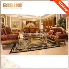 Baroque Coffee Table by Luxury French Baroque Style Golden Living Room Sofa Set Classic