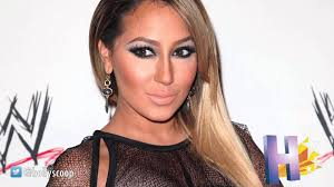 adrienne bailon slams u0027ratchet u0027 rob kardashian tattoo on her new