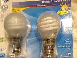 ge cfl 15w 60w equivalent bright from the start light bulbs 2
