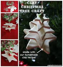 white clay tree craft 3d crafts