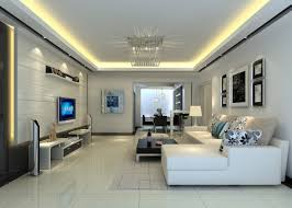 living elegant simple living room with tv console design feature