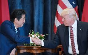 donald trump presiden amerika deal amerika jepang tingkatkan sanksi terhadap korut