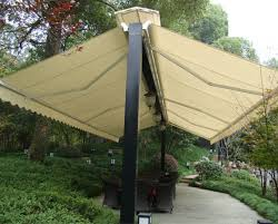 Retractable Waterproof Awnings China Outdoor Furniture Both Sides Open Retractable Awnings With