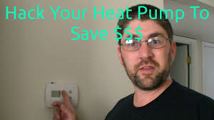 hack your heat pump to save money youtube