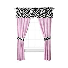 Zebra Curtain Panels Upc 734737410787 Sassy Zebra 2 Pack Curtain Panels Upcitemdb Com
