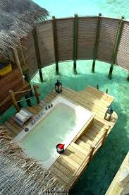 Wood Heated Bathtub Wood Or Propane Fired Outdoor Soaking Tub For 2 Kez