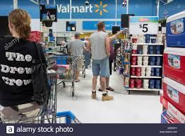 customers wait in a checkout line on black friday at a toys r us
