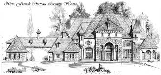 Chateau Home Plans Houston Luxury French Chateau Manor House Floor Plans Traditional