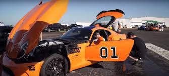 Dodge Viper Orange - 2 300 hp general lee dodge viper is a twin turbo god goes 1 2