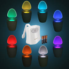 best motion activated toilet night lights reviews findingtop com