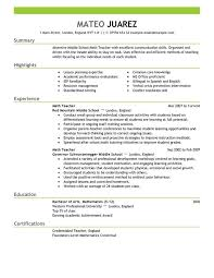 Assistant Preschool Teacher Resume Download Resume Template For Teachers Haadyaooverbayresort Com