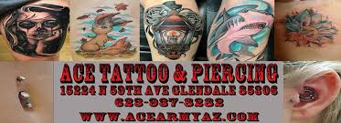 ace tattoo and piercing tattoo u0026 piercing shop glendale
