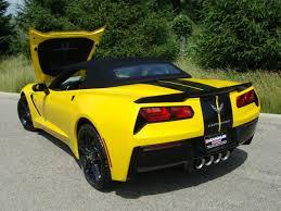 black and yellow corvette rick corvette conti archive yellow stingray convertible w