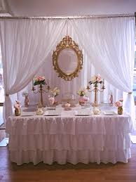 Pink And White Candy Buffet by White Pink And Gold Buffet Buffet Tables And Backdrops By