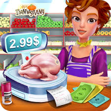 thanksgiving store cashier manager mod apk