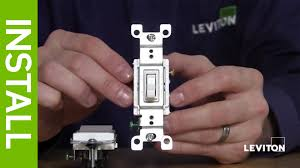leviton dimmer light switch leviton presents what is a 3 way switch youtube
