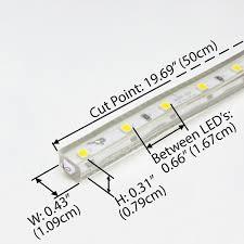 led daylight strip light white driverless ac 120v led strip lights
