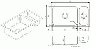 Kitchen Sinks Dimensions Interior Home Design - Kitchen sink small size